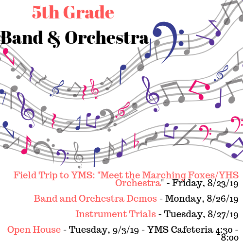 Attention 5th Grade Families!